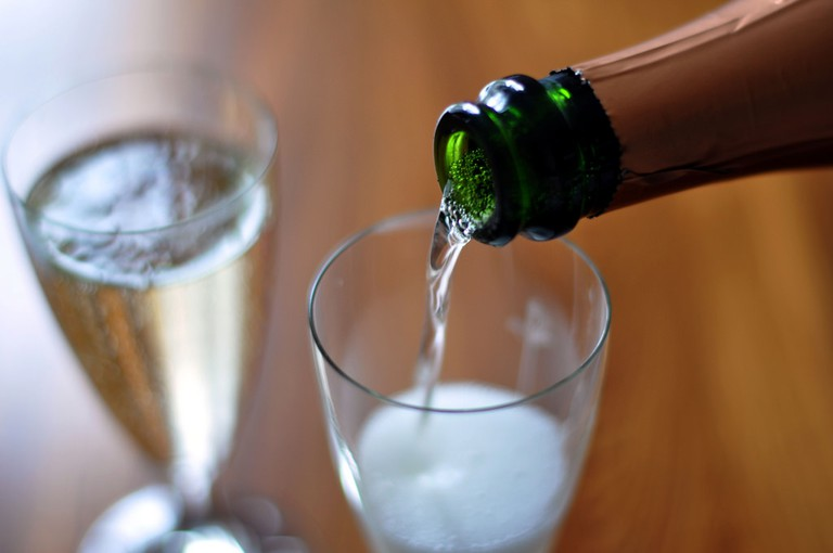 Cava is the Spanish equivalent to Champagne © cyclonebill