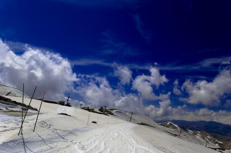Faraya slopes