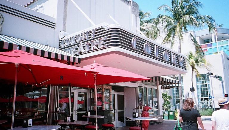 The Colony Theater In Miami Beach