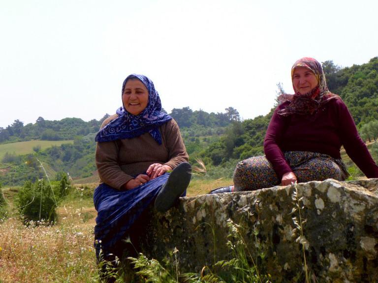 Rural Turkish women