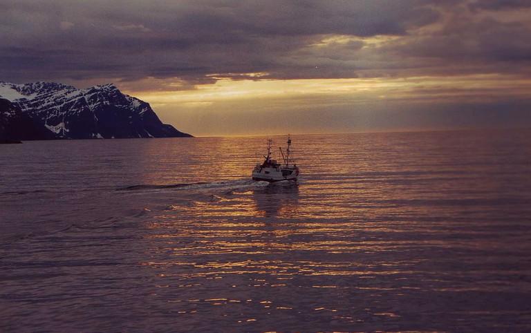 Fishing vessel in Tromsø