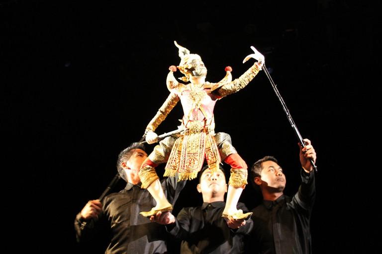 Thai puppet theater | © Ryan Lackey / Flickr
