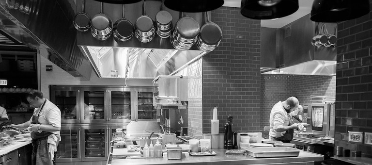 The kitchen at the Albert | © Ranson Photo/Courtesy of the Albert