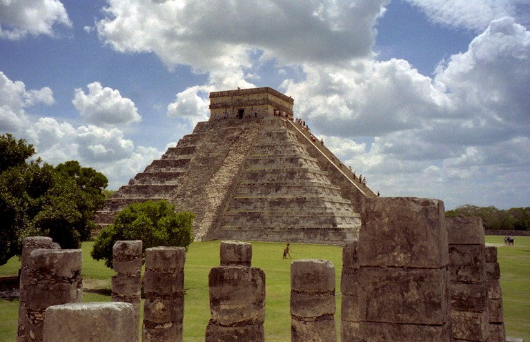Chichen Itza, before climbing the pyramid was off limits