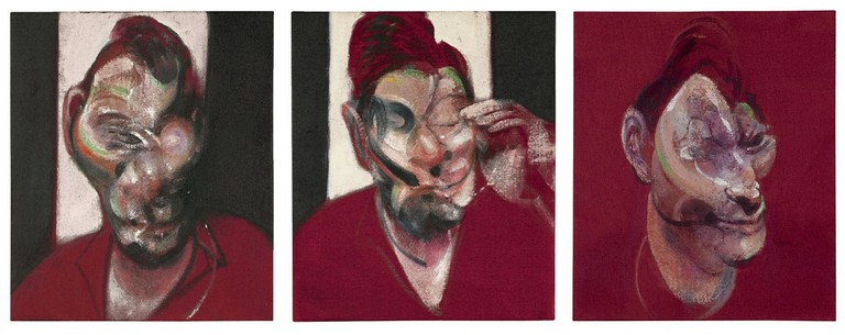 Francis Bacon—Three Studies for the Portrait of Lucian Freud (1964) | © cea +/Flickr