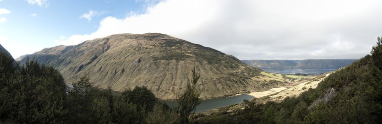 View from the Mt Crichton Loop Track