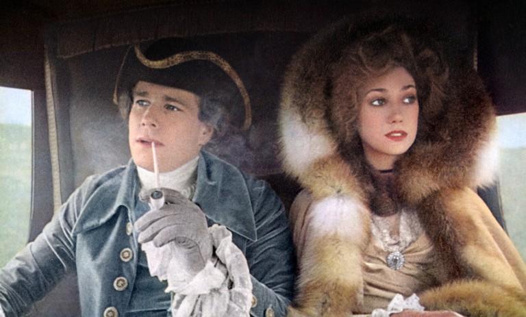 Ryan O'Neal and Marisa Berenson in 'Barry Lyndon'