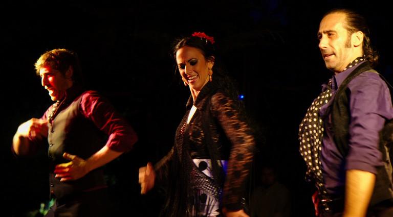 Flamenco dancers in a show   © Jun/Flickr