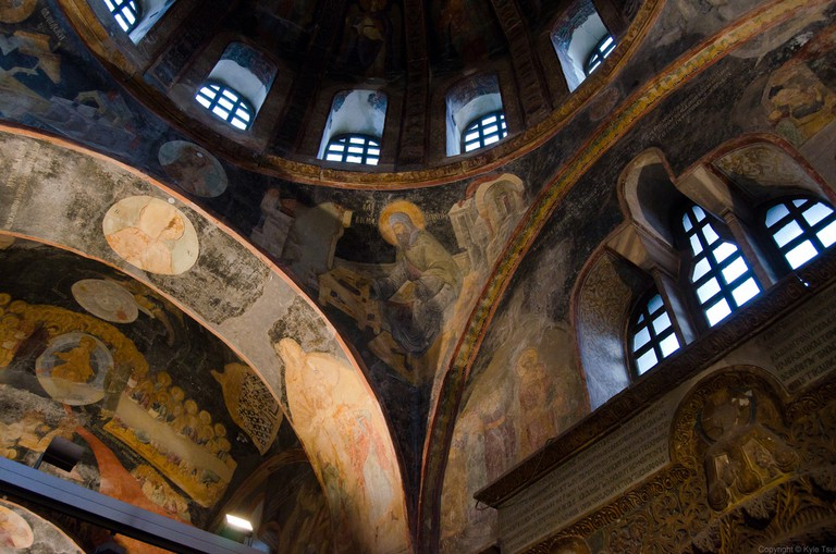 The Mosaics and Frescoes of Chora Church