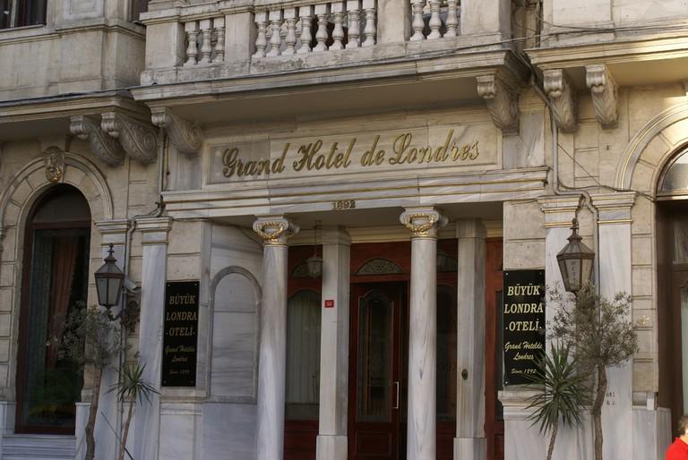 Grand Hotel de Londres, Istanbul