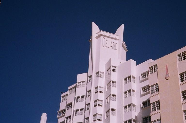 The Delano Hotel in Miami Beach