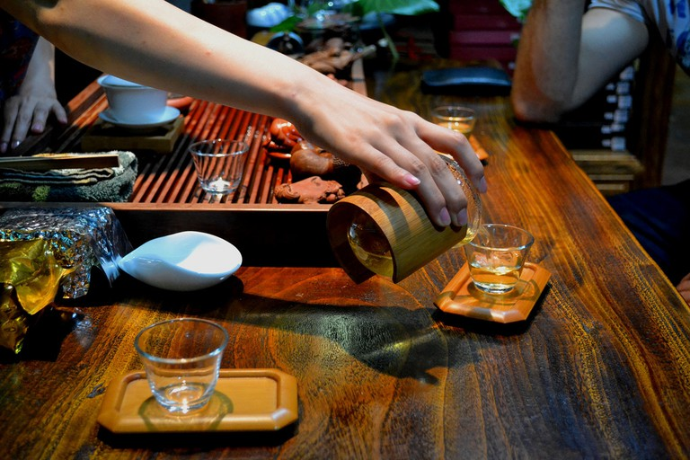 Chinese tea ceremony | © logatfer/Flickr