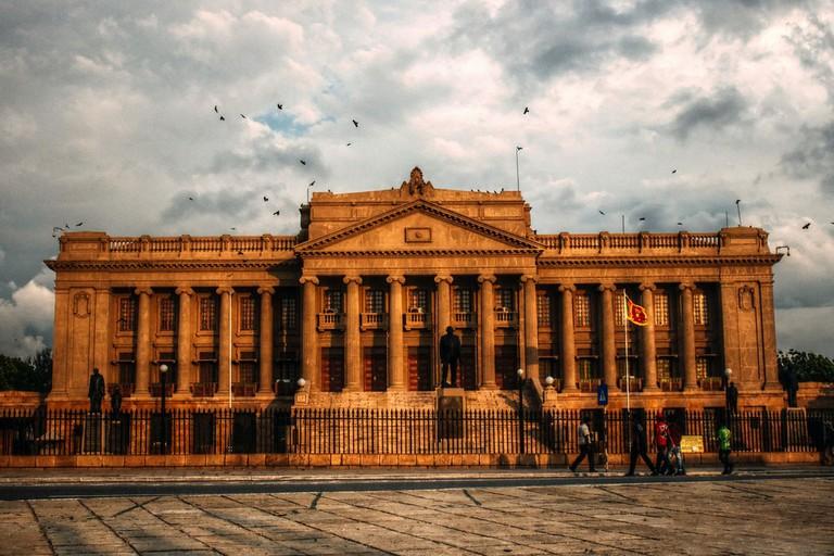 The old parliament Sri Lanka