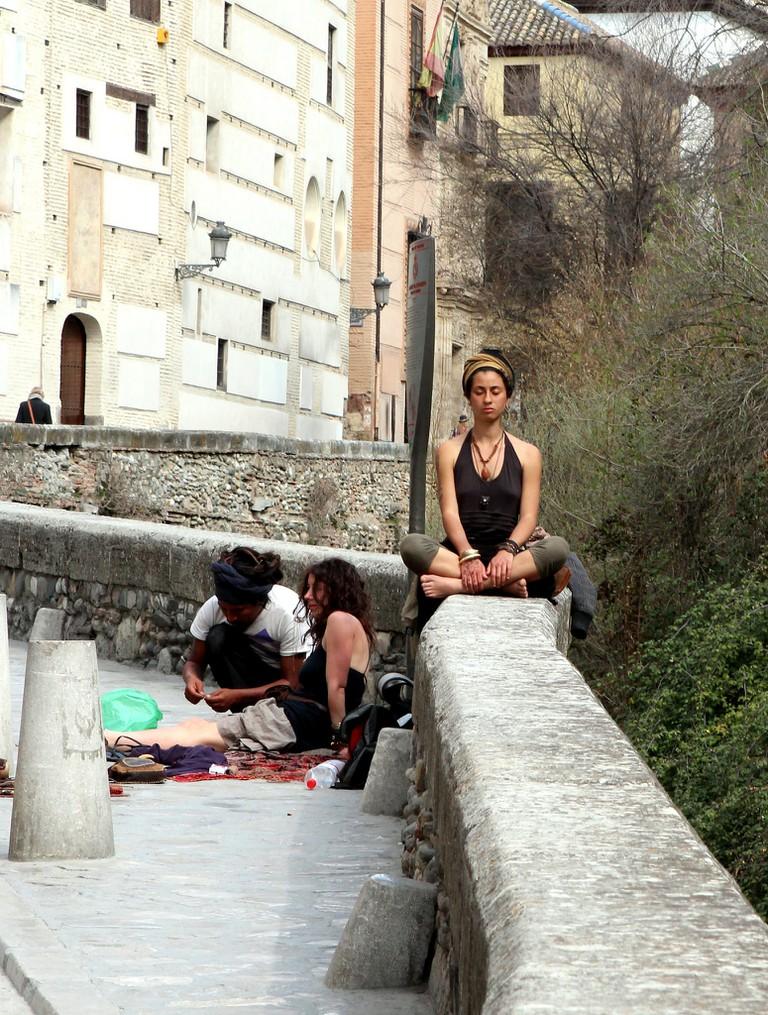 Meditation on the Carrera del Darro
