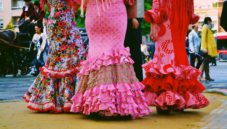 Flamenco costumes are bold and elaborate   © Trinh Nguyen/Flickr