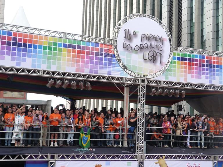 Float at LGBT Pride Parade