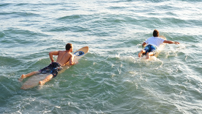 Evening Surf Session