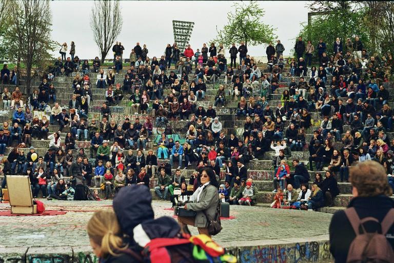Sundays at Mauerpark