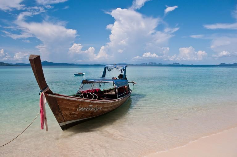 Koh Kradan Boat