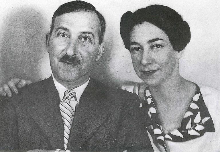 Stefan and Lotte Zweig
