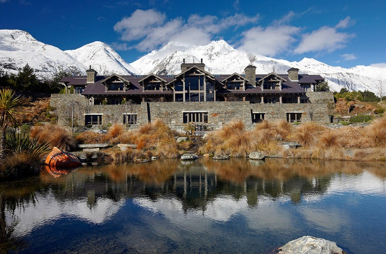 Blanket Bay Lodge on Glenorchy Road