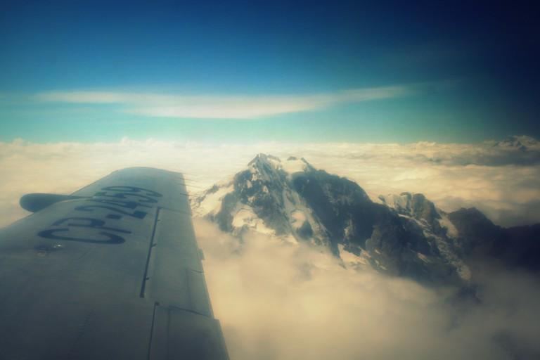 Flight to Rurrenabeque