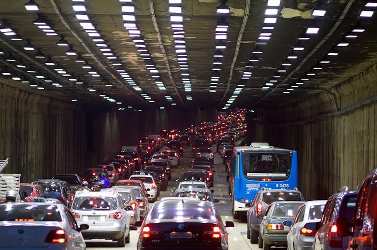 Traffic in São Paulo