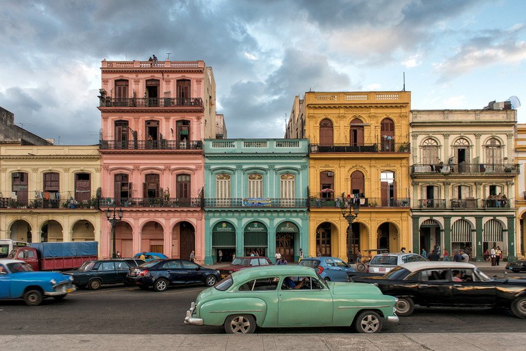 If you don't mind sharing a car with other customers, shared taxis are a good, cheap option to move around Havana
