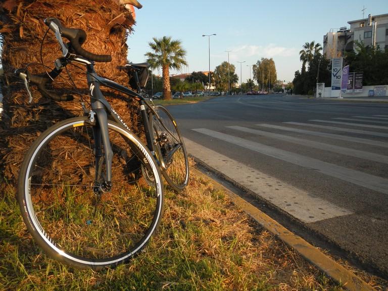 Biking in Voula