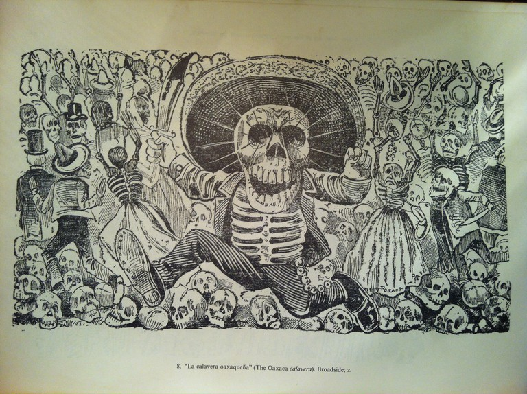 A woodcut by José Guadalupe Posada