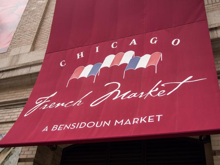 Chicago French Market | © Edsel Little/Flickr