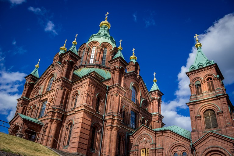 Towers of the Uspenski Cathedral/ Tomi Lattu/ Flickr