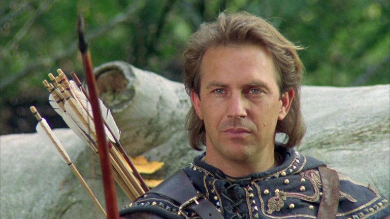 Kevin Costner in 'Robin Hood: Prince of Thieves'