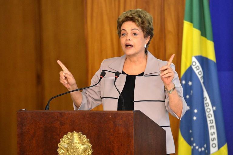 The ex-president, Dilma Rousseff |© Antonio Cruz/WikiCommons