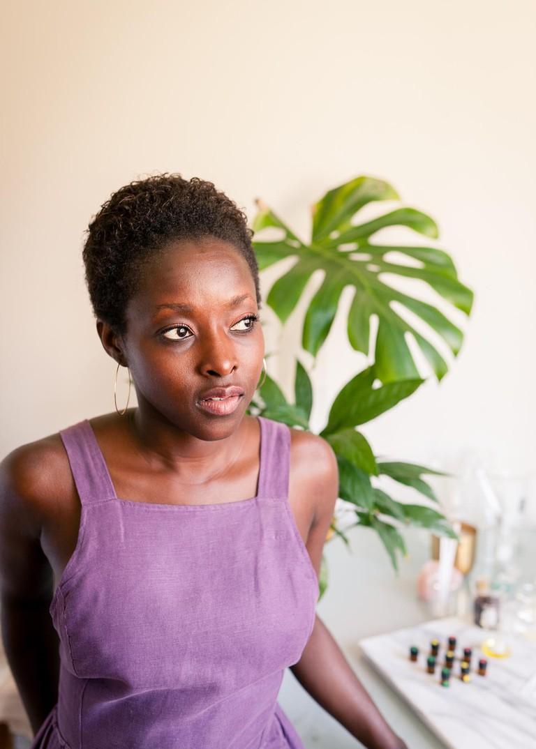 Portrait of Aba, aromatherapist