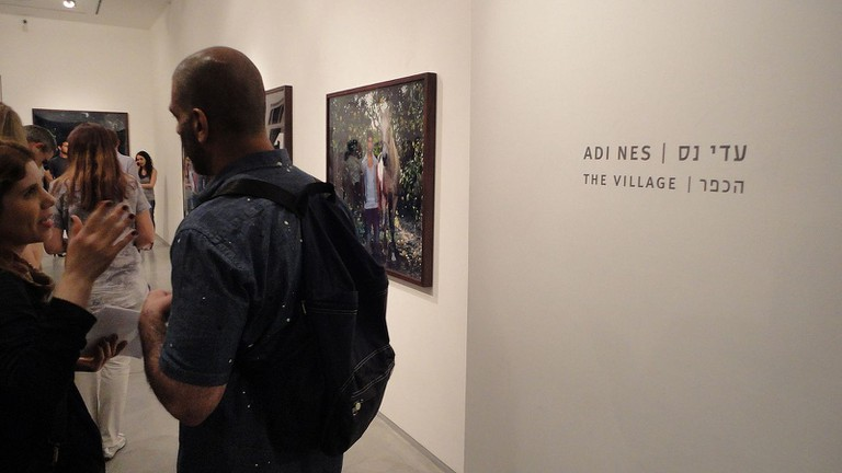 Adi Nes, The Village, show opening at Sommer Contemporary Art in Tel Aviv