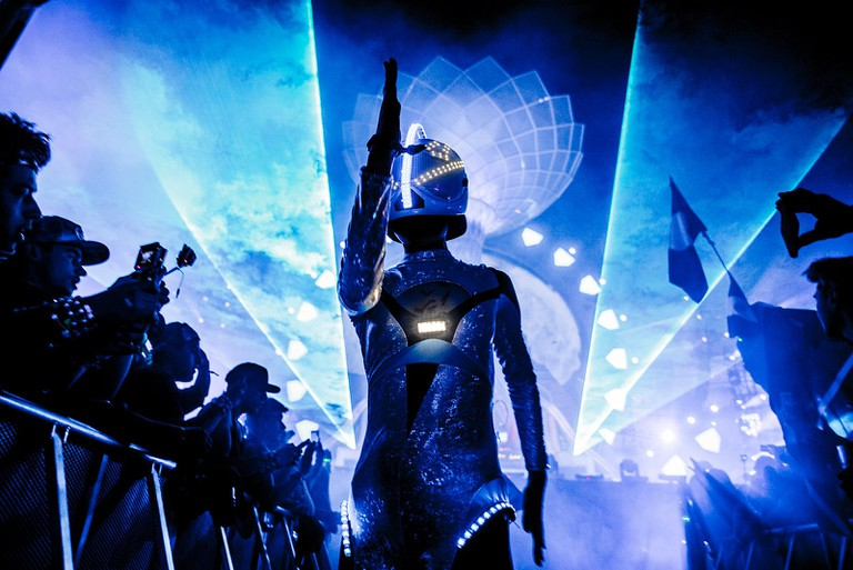Scenes from Electric Daisy Carnival, 2016 | Courtesy of Annie Lesser