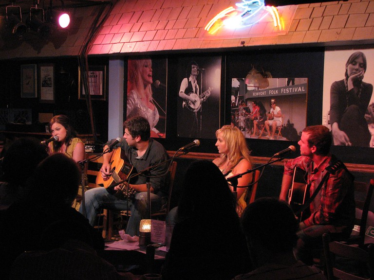 Performers at Bluebird Cafe