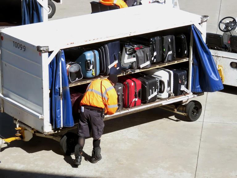 Airline luggage | © Bonnie Henderson
