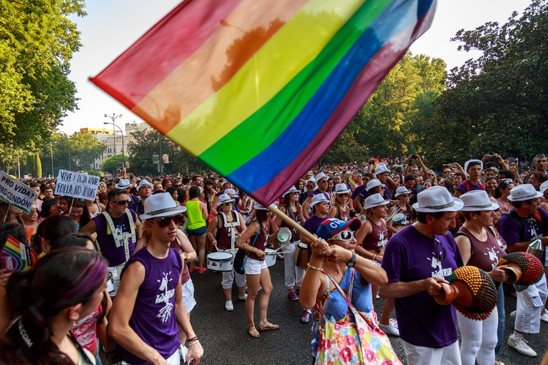 Everyone in Madrid comes out to celebrate World Pride