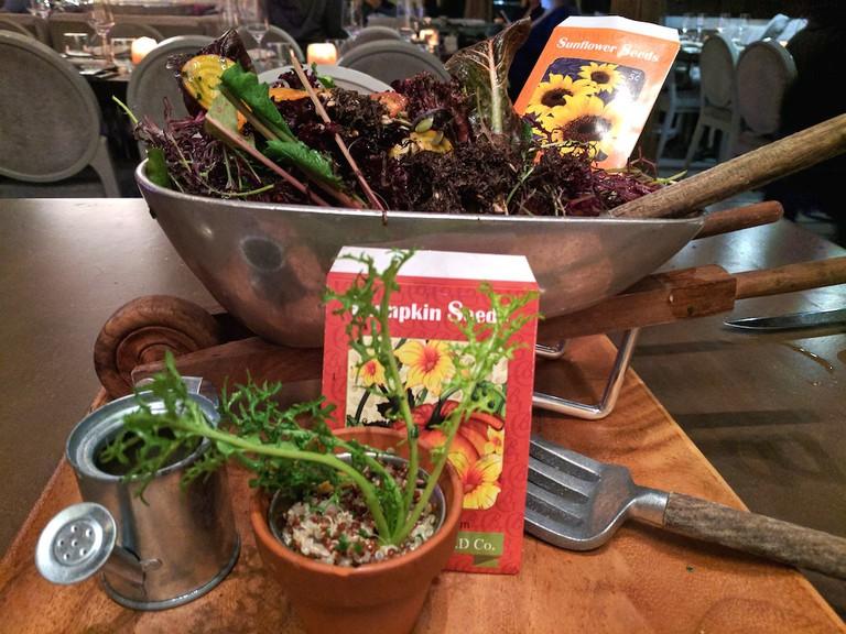 The Rake & Ho salad at Barton G