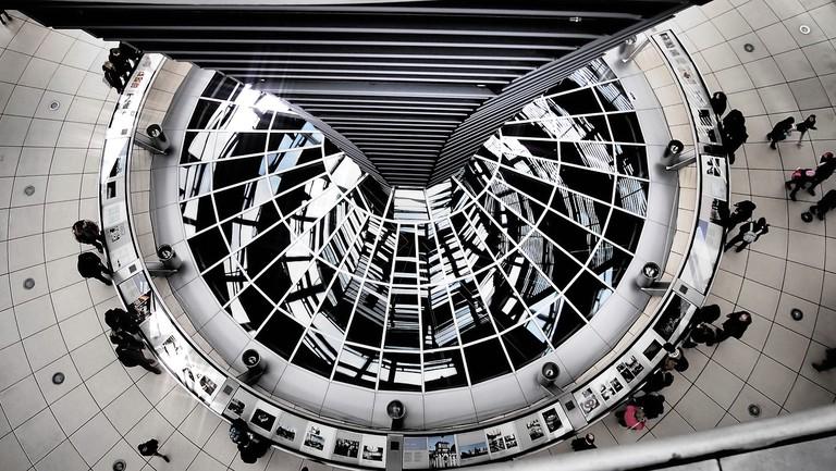 "<a href=""https://pixabay.com/en/berlin-reichstag-dome-building-2239736/"">The Reichstag Dome | © ahundt/Pixabay</a>"