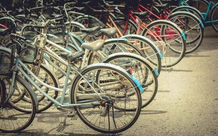 Biking in Amsterdam isn't always a breeze