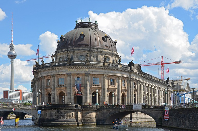 View of the Bode Museum at Museum Island