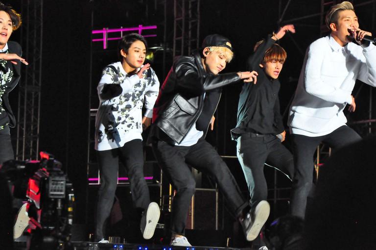 K-pop group BTS I