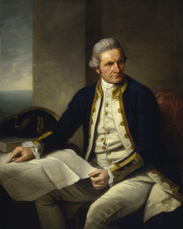 Captain James Cook © Nathaniel Dance-Holland/WikiCommons