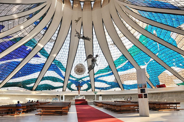 Cathedral of Brasilia |©Cayambe/WikiCommons