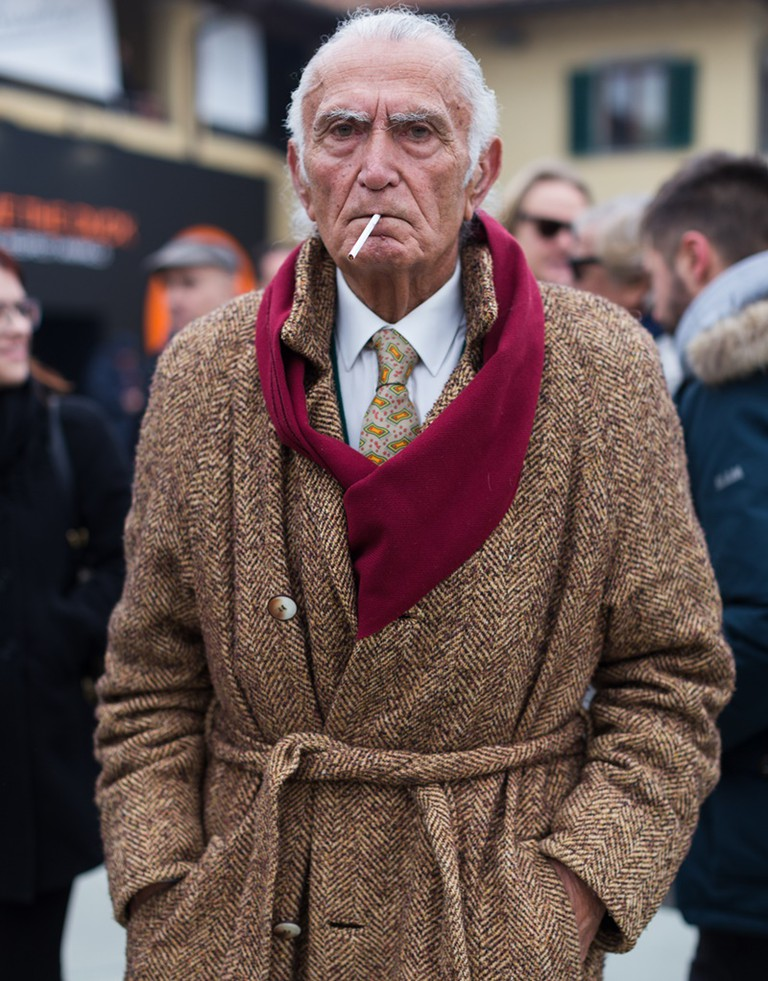 Woisselin feels men can dress well at any age