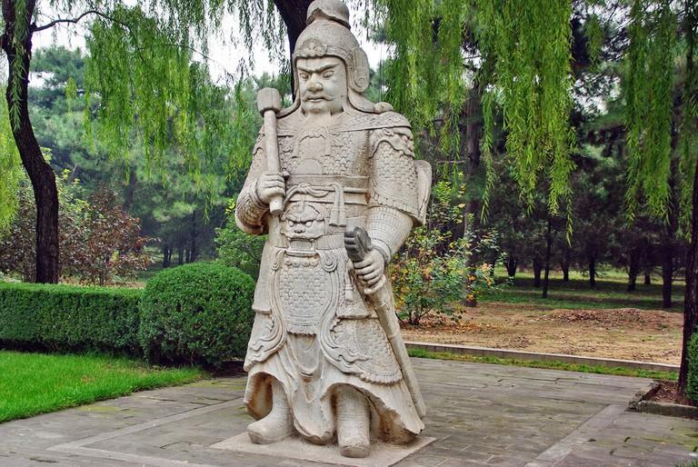 Ming statue
