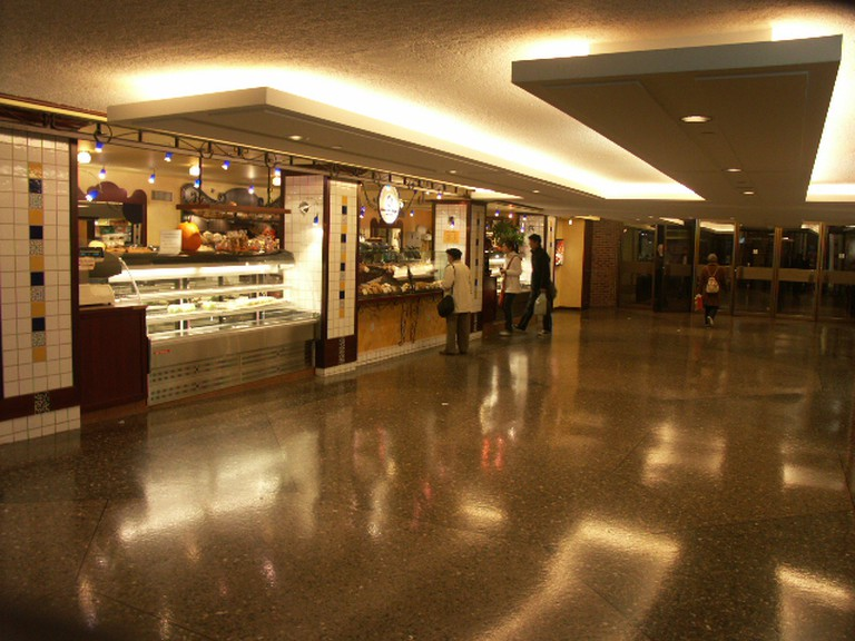 A tunnel in Montreal's Underground City